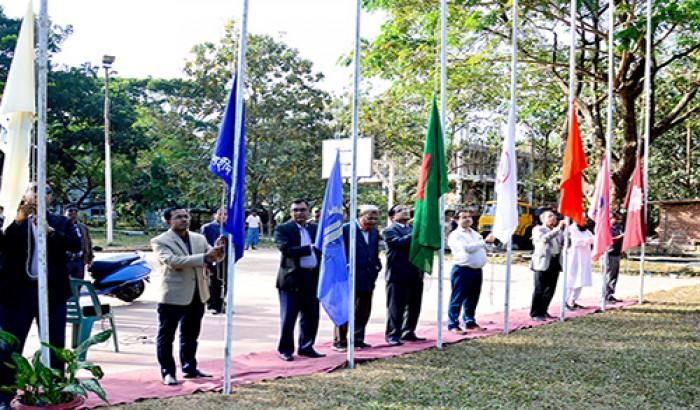 চুয়েটে আন্ত:হল ভলিবল প্রতিযোগিতা