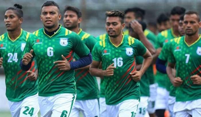 বাংলাদেশ ১-০ গোলে এগিয়ে ভারতের বিপক্ষে