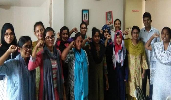 সমাজতান্ত্রিক ছাত্র ফ্রন্ট ইডেন কলেজ শাখার কমিটি গঠিন