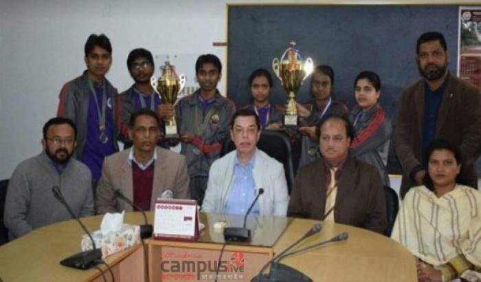 আন্ত:বিশ্ববিদ্যালয় ক্যারাম প্রতিযোগিতায় চ্যাম্পিয়ন শাবিপ্রবি