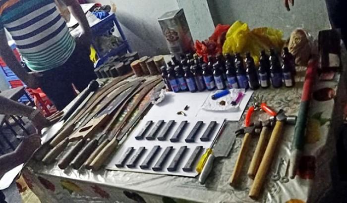 ছাত্রলীগ নেতার বাড়িতে বোমা তৈরির সরঞ্জাম, তোলপাড়