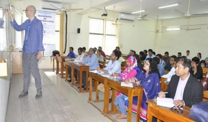 ঢাবিতে CIMPA Research School এর কর্মশালা অনুষ্ঠিত