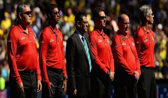 ক্রিকেট বিশ্বকাপের সেমিতে আম্পায়ার থাকছেন যারা