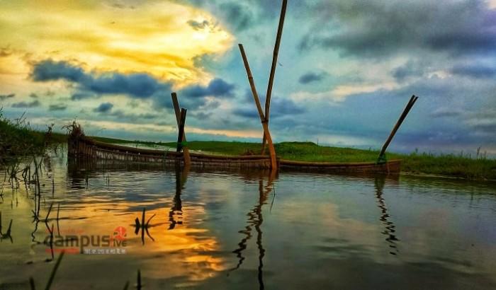 হাওর-বাঁওড়ের জেলা নেত্রকোণার ছবি: বাঁধন চক্রবর্তী