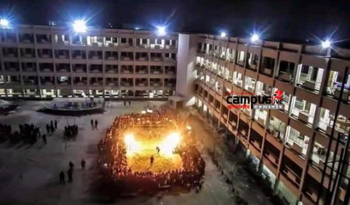 রাতের ক্যাম্পাস: বঙ্গবন্ধু শেখ মুজিবুর রহমান বিজ্ঞান ও প্রযুক্তি বিশ্ববিদ্যালয়