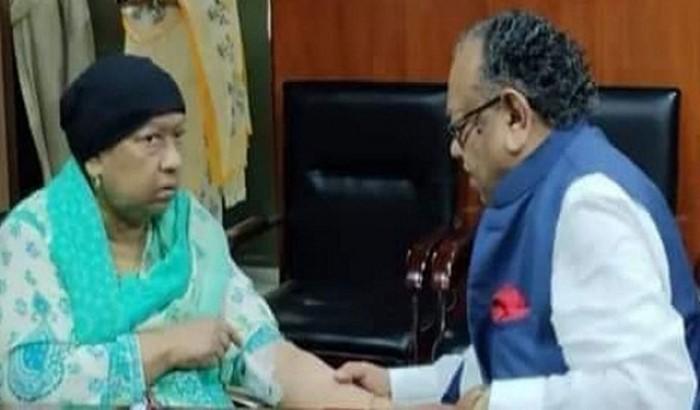 সাবেক স্বাস্থ্যমন্ত্রী ডা. রুহুল হকের স্ত্রী মারা গেছেন