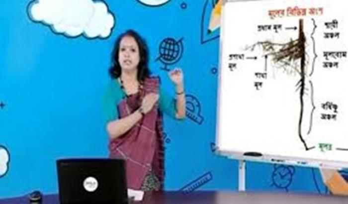 মঙ্গলবার টেলিভিশনে মাধ্যমিকে ১২টি বিষয়ের ক্লাস