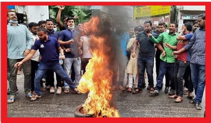 ছাত্রলীগ: ছাত্রাবাসে গণধর্ষণ, ফুঁসে উঠছে এমসি কলেজ