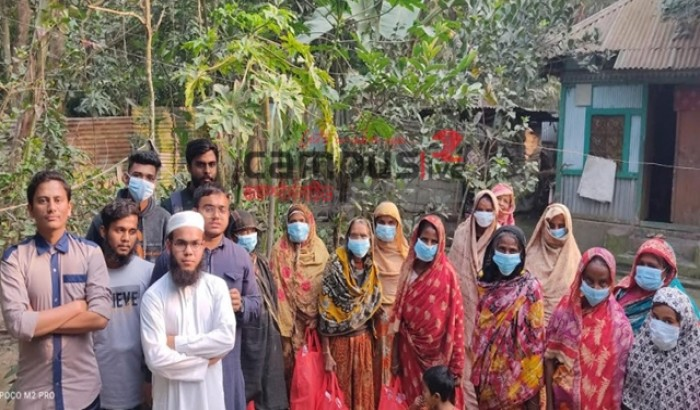 কুমিল্লায় শীতার্তদের মাঝে হাব'র উষ্ণতার ছোঁয়া