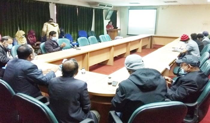 হাবিপ্রবিতে সিপিই বিভাগের পিএইচডি সেমিনার অনুষ্ঠিত