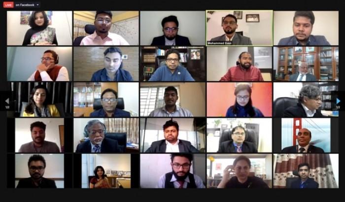 'এনএসইউএসএন'র উদ্বোধনী কোহর্টের গ্রাজুয়েশন অনুষ্ঠিত