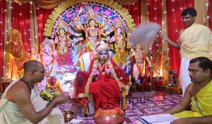 ডুয়েটে শারদীয় দুর্গোৎসবের মহাষ্টমী অনুষ্ঠিত