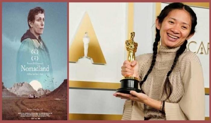 অস্কারে সেরা ছবি 'নোমাডল্যান্ড', সেরা পরিচালক 'ক্লোয়ি ঝাউ'