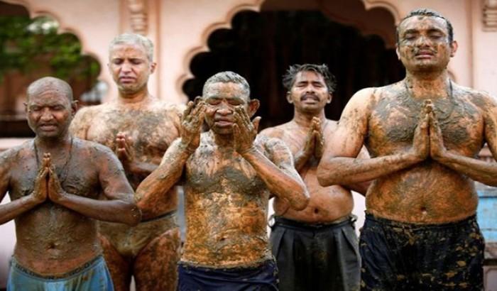 করোনা রোধে শরীরে গোবর-গোমূত্র ব্যবহার, চিকিৎসকদের সতর্কতা