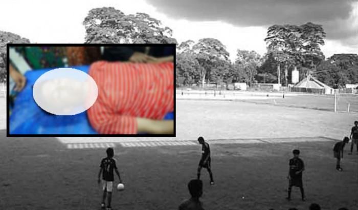 খেলতে খেলতে ফুটবল মাঠেই প্রাণ গেলো কলেজছাত্রের