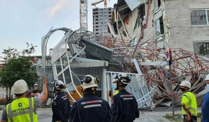 বেলজিয়ামে স্কুল ভবন ধসে ৫ নির্মাণ শ্রমিক নিহত