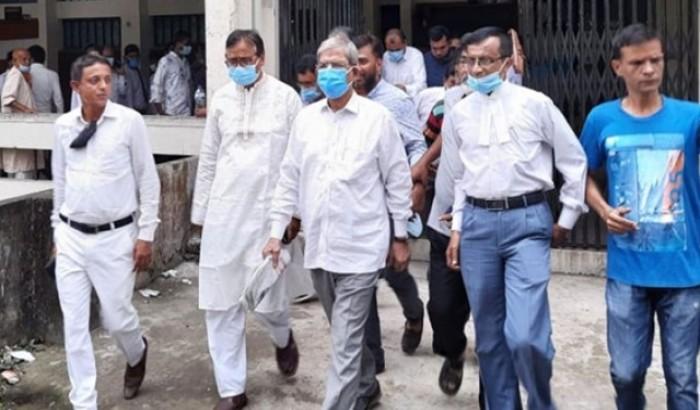 আদালতে বিএনপি মহাসচিব মির্জা ফখরুল