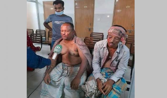 বালু তোলাকে কেন্দ্র করে সংঘর্ষ, গুলিতে ১৪ কৃষক আহত