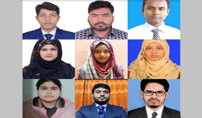 হাবিপ্রবি'র আট অনুষদে সেরা নয় শিক্ষার্থী