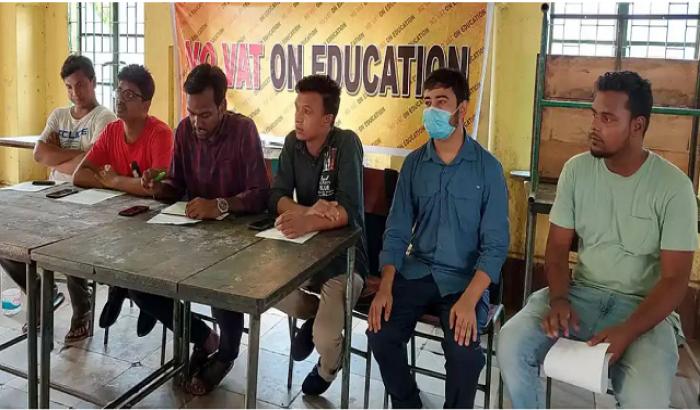 ছয় দফা দাবিতে বেসরকারি বিশ্ববিদ্যালয়ের শিক্ষার্থীরা মাঠে
