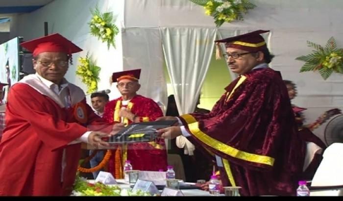 আসাম বিশ্ববিদ্যালয় থেকে ড. রাশীদুলের পিএইচডি অর্জন