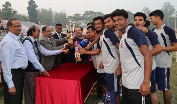 রাবি'তে আন্ত:বিভাগ ভলিবল প্রতিযোগিতা
