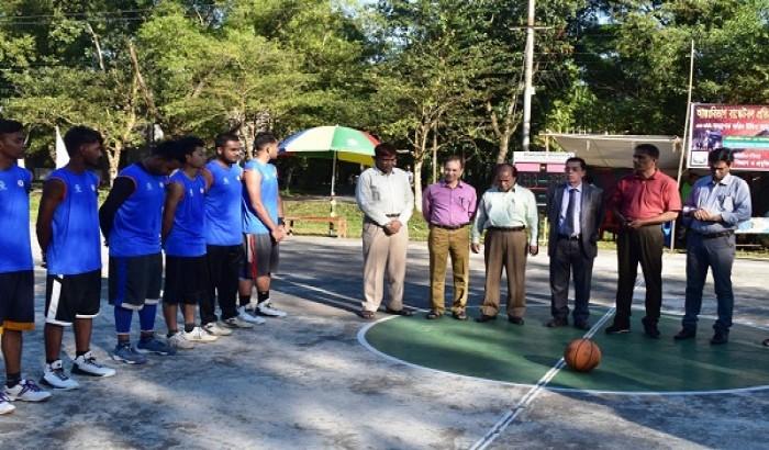 শাবিতে আন্ত:বিভাগ বাস্কেটবল প্রতিযোগীতা শুরু