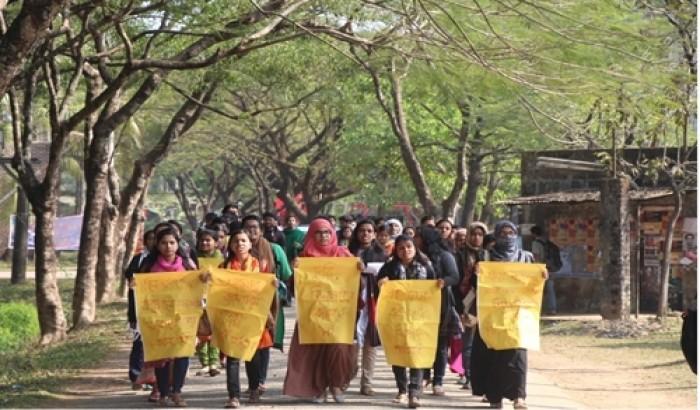 শাবির ছাত্রী হলে চুরি: ব্যবস্থা না নিলে কঠোর আন্দোলন