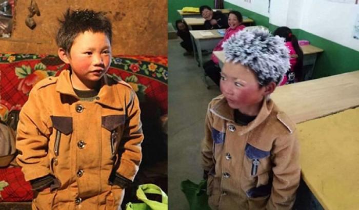 চীনের 'বিস্ময়কর বরফ বালক' নিয়ে তোলপাড়!