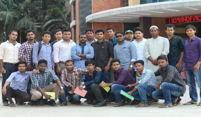 বিটেক শিক্ষার্থীদের দু'দিনব্যাপী ইন্ডাস্ট্রি ভিজিট সম্পন্ন