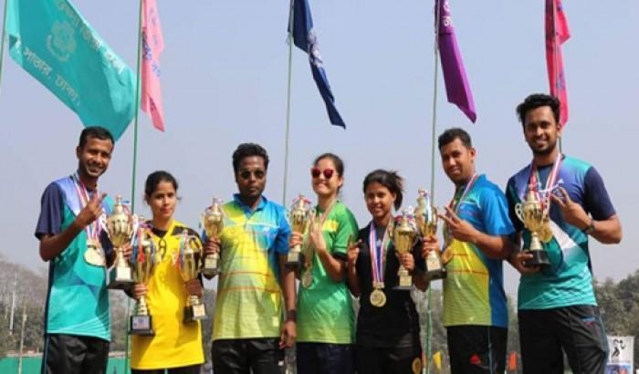 জাবিতে ক্রীড়া প্রতিযোগিতা: মামুন, গাজী চ্যাম্পিয়ন